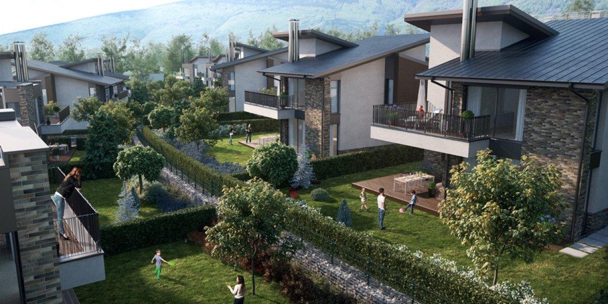 Sofia Park Villas, Затворен комплекс, Без комисионна, Акт 16, ж. к. София Парк, Инвеститор, BuildEst